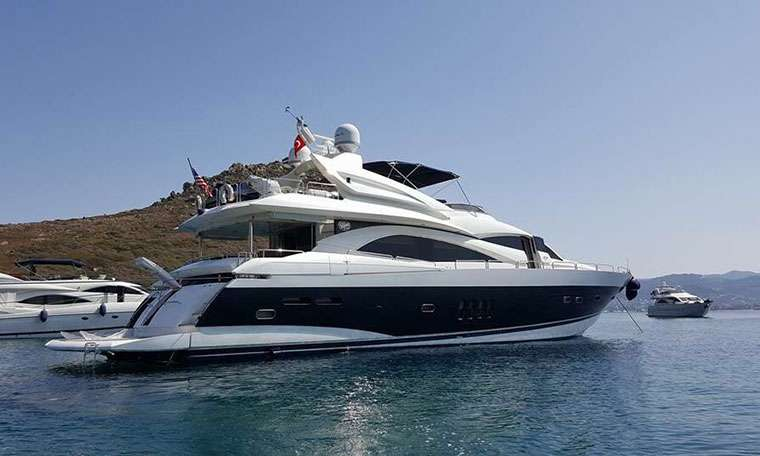 Sunseeker 94 (2005, Turkey)