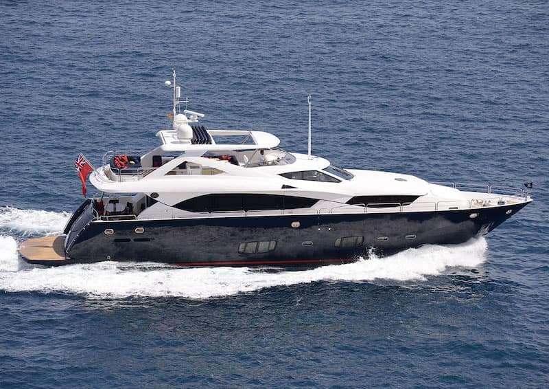 Sunseeker 30 Metre Yacht (2009, Montenegro)